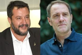 """Valerio Mastandrea con Open Arms, a Matteo Salvini: """"Fa sbarcare i detenuti e ti voto"""""""