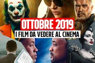 Tutti i film in uscita al cinema ad ottobre 2019