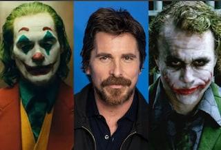 """Christian Bale sul Joker di Joaquin Phoenix: """"Grande attore, coraggioso farlo dopo Heath Ledger"""""""