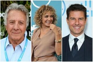 """Valeria Golino: """"Tom Cruise gentile. Dustin Hoffman consigliava dottori, il Carlo Verdone americano"""""""