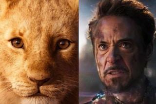 Il Re Leone brucia gli Avengers: è il film più visto in Italia nel 2019