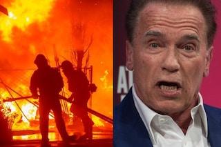 Incendi a Los Angeles: Arnold Schwarzenegger evacuato da casa, cancellata la prima di Terminator