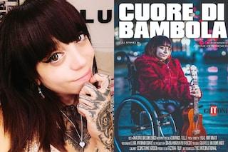 """Veronica Tulli, cantante con la sindrome delle ossa di vetro: """"Che palle il pietismo sui disabili"""""""