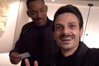 Fabio Rovazzi va a vedere 'Gemini Man' e si ritrova in una stanza d'albergo con Will Smith