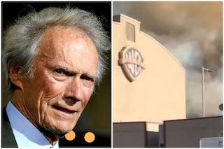 "Scoppia un incendio ad Hollywood, Clint Eastwood si rifiuta di andar via: ""Ho un lavoro da finire"""