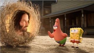Tutti vogliono Keanu Reeves, l'attore è anche nel film SpongeBob Amici in fuga nelle sale dal 2020