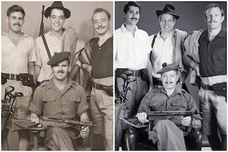 Hugh Grant e Guy Ritchie scattano la stessa foto che fecero i loro padri da giovani