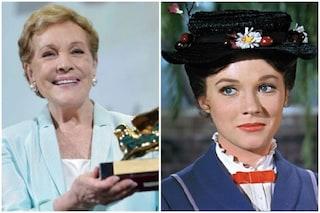 """Julie Andrews: """"Mi offrirono della droga, volevano vedere come fosse Mary Poppins da fatta"""""""