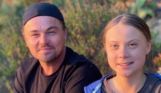 """Leonardo Di Caprio incontra Greta Thunberg: """"Lei è una leader del nostro tempo"""""""