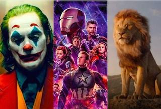 I 10 film di maggiore incasso del 2019