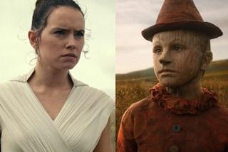 Incassi al cinema: bene Pinocchio, L'ascesa di Skywalker vince ma fa peggio degli altri Star Wars