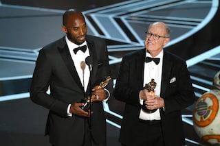 Addio Kobe Bryant, il ringraziamento in italiano del campione di basket agli Oscar 2018