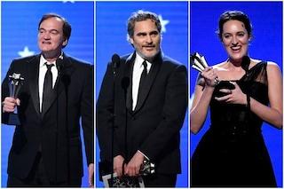 Critics' Choice Awards 2020: miglior film a Tarantino, miglior attore Phoenix e trionfa Fleabag