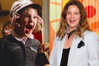 I 45 anni di Drew Barrymore, Gertie di E.T. L'extra-terrestre oggi è una diva di Hollywood