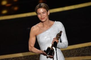 """Oscar 2020: Renée Zellweger migliore attrice protagonista: """"Per Judy Garland, che non lo vinse mai"""""""