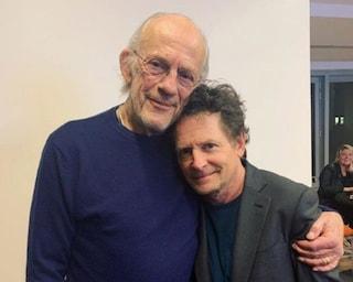 Christopher Lloyd e Michael J. Fox insieme per beneficenza dopo Ritorno al futuro