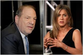 "La mail choc di Harvey Weinstein: ""Jennifer Aniston dovrebbe essere uccisa"""