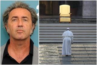 """Paolo Sorrentino sul Papa solo a San Pietro: """"Vaticano non ha bisogno di me, crea immagini potenti"""""""