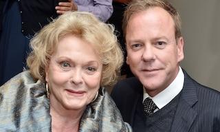 """Morta per una polmonite Shirley Douglas, madre dell'attore Kiefer Sutherland: """"Non era Covid-19"""""""