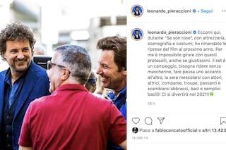 """Leonardo Pieraccioni rinvia le riprese del film al 2021: """"Non si può girare con questi protocolli"""""""