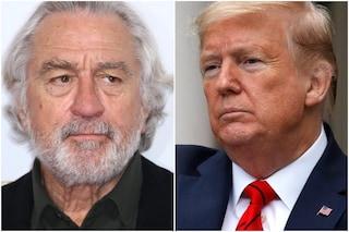 """Robert De Niro: """"A Donald Trump non importa quanti muoiono, vuole solo essere rieletto"""""""