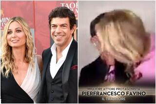David di Donatello 2020, Pierfrancesco Favino miglior attore protagonista: Anna Ferzetti lo bacia