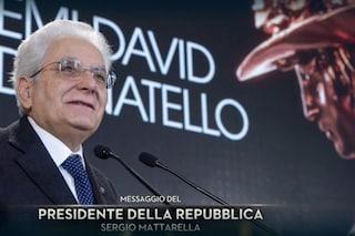 """Sergio Mattarella ai David di Donatello 2020: """"Solidarietà agli artisti, tornate a farci sognare"""""""