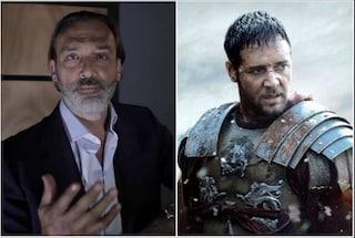 """Luca Ward festeggia Il Gladiatore: """"Da 20 anni ripeto le frasi del film, una storia felice"""""""
