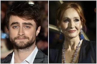 "Daniel Radcliffe risponde a JK Rowling sulla questione trans: ""Le donne transgender sono donne"""