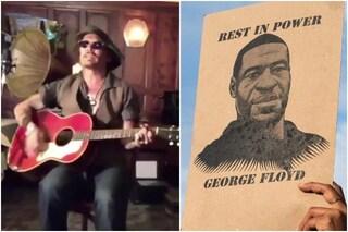 """Johnny Deppcanta Bob Dylan per George Floyd: """"La sua morte crudele cambierà il mondo"""""""