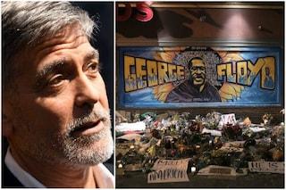 """George Clooney: """"Il razzismo è la nostra pandemia ma abbiamo smesso di trovare un vaccino"""""""