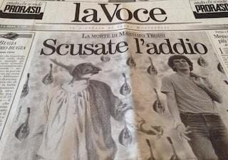"""""""Scusate l'addio"""", quando morì Massimo Troisi e l'Italia si fermò"""