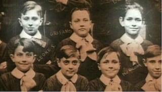 La foto di Ennio Morricone e Sergio Leone insieme alle elementari