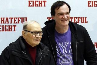 """Quentin Tarantino omaggia Ennio Morricone: """"Il Re è morto, lunga vita al Re"""""""