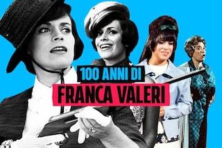 "I 100 anni di Franca Valeri, auguri alla ""signorina snob"""