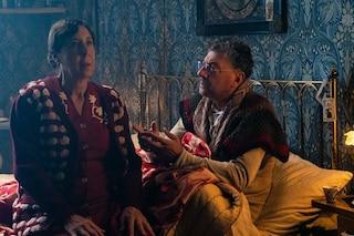 La prima immagine del film di Natale in casa Cupiello con Sergio Castellitto e Marina Confalone