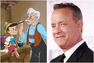 Pinocchio in live action, Disney vuole Tom Hanks nel ruolo di Geppetto: in corso le trattative