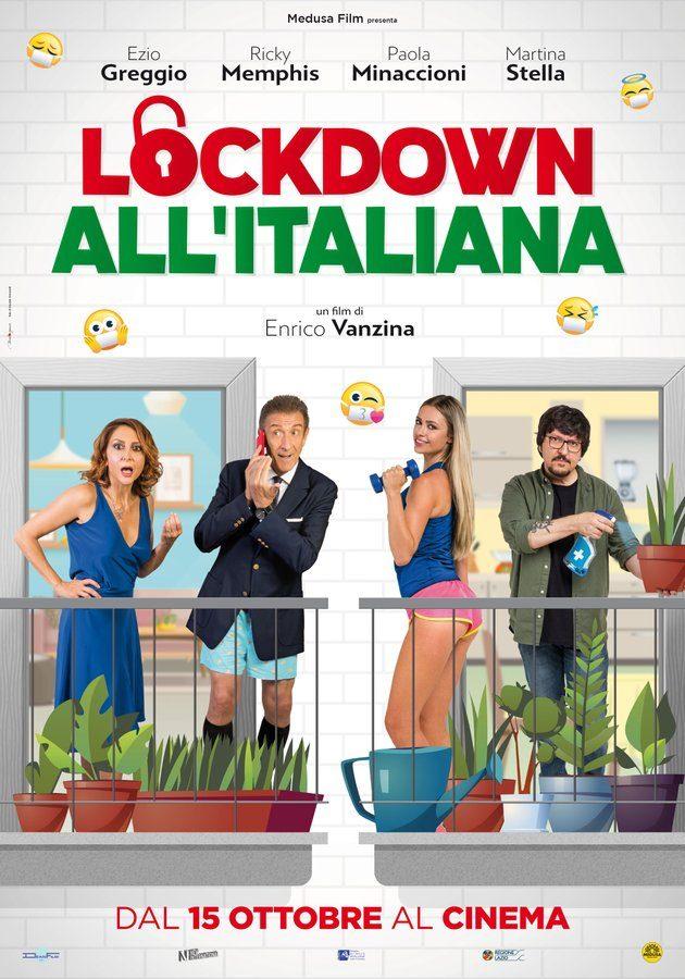 La locandina di Lockdown all'italiana