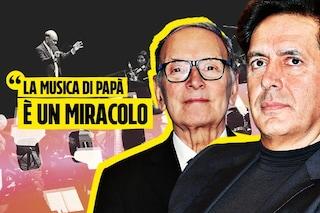 """Andrea Morricone omaggia il padre Ennio a Venezia77: """"La sua musica è civiltà, un appello al cinema"""""""