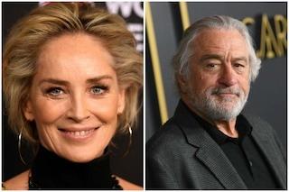 """Sharon Stone: """"Il bacio migliore della mia vita? Quello con Robert De Niro"""""""