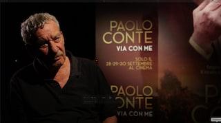 """'Via con me' sbarca al cinema, Paolo Conte: """"Io, scrittore per gli altri e poi cantautore"""""""