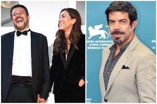 """Venezia 2020, Matteo Salvini risponde a Pierfrancesco Favino: """"Non voglio manipolare il suo film"""""""