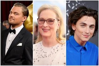 Don't Look Up il film in cui Leonardo DiCaprio, Meryl Streep e Timothée Chalamet saranno insieme