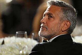 """George Clooney: """"Gli italiani si sanno godere la vita, da loro ho imparato a rallentare"""""""