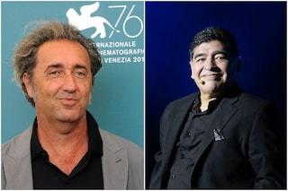 """Diego Armando Maradona, Paolo Sorrentino: """"Non è morto, è andato a giocare in trasferta"""""""