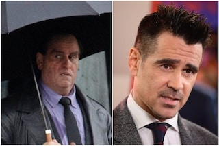 Colin Farrell sul set di The Batman, l'attore irriconoscibile nei panni del Pinguino