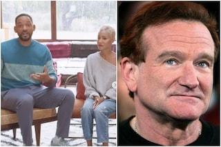 """La famiglia di Will Smith riceve il Robin Williams Award: """"Il suo amore vive nelle nostre risate"""""""