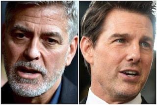 """George Clooney dalla parte di Tom Cruise: """"Ha ragione, le persone devono essere responsabili"""""""