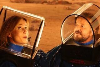 'In vacanza su Marte' con Christian De Sica e Massimo Boldi uscirà in streaming