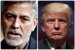 """George Clooney dopo l'assalto a Capitol Hill: """"Trump nella pattumiera della storia"""""""